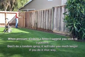 Burnaby Pressure Washing Residential Fence