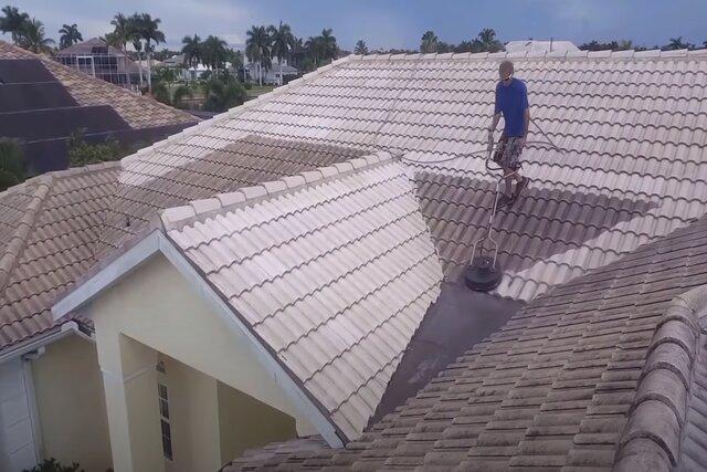 Burnaby Pressure Washing Residential Roof