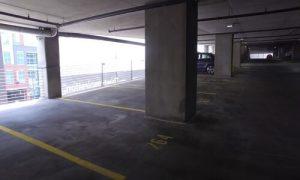 Burnaby Pressure Washing clean parking garage