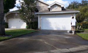 Burnaby Pressure Washing concrete driveway