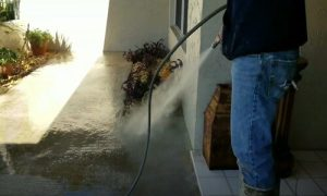 Burnaby Pressure Washing concrete cleaning 1