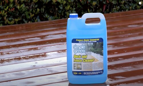 Burnaby Pressure Washing deck and fence washer