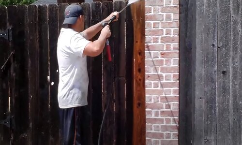 Burnaby Pressure Washing fence pressure cleaning