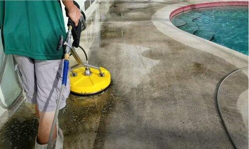 Burnaby Pressure Washing pool patio