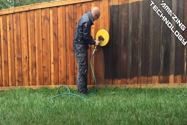 Burnaby Pressure Washing Fence
